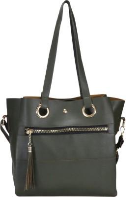 DESENCE Women Green Hand held Bag DESENCE Handbags