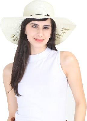 FabSeasons Women's hats(Beige, Pack of 1)