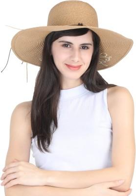 FabSeasons Women's caps & hats(Brown, Pack of 1)
