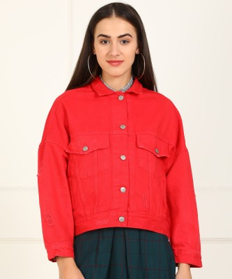 Tokyo Talkies Full Sleeve Solid Women's Jacket at flipkart