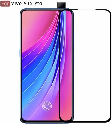 ajd Edge To Edge Tempered Glass for Vivo V15 Pro(Pack of 1)