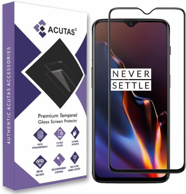 ACUTAS Edge To Edge Tempered Glass for OnePlus 6T / OnePlus 7(Pack of 1)