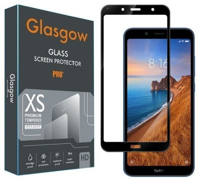 Glasgow Edge To Edge Tempered Glass for Mi Redmi 7A(Pack of 1)