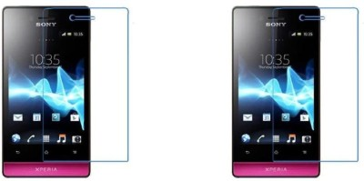 44MOB Screen Guard for Sony Xperia Miro(Pack of 2)