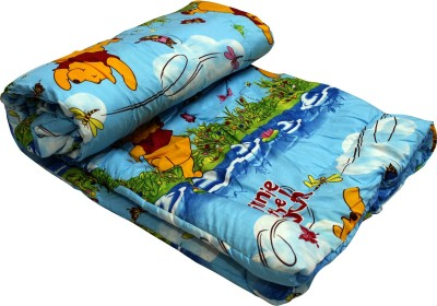 Sunshine Creations Cartoon Queen AC Blanket(Polyester, Multicolor)