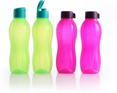 Tupperware Tupperware Bottle Green 1 Liter - Pack Of 2 1000 ml Bottle(Pack of 2, Green)