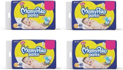 MamyPoko Baby Diaper S 46 Piece Pack of 4   S 184 Pieces MamyPoko Baby Diapers