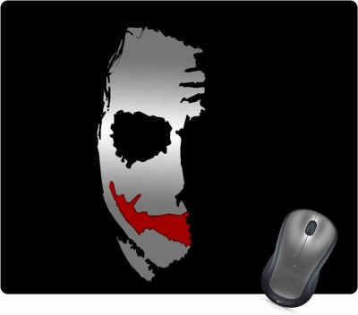Golden Feather Anti Skid JOKER Design Printed Mouse pad for laptops and Computers Mousepad 28 Mousepad(Multicolor)