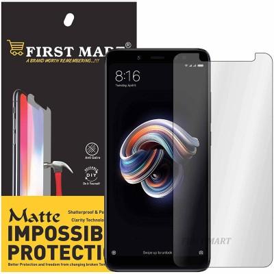 FIRST MART Impossible Screen Guard for Mi Redmi Note 5, Mi Redmi Note 5 Pro(Pack of 1)