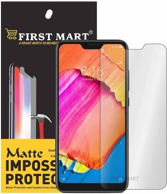 FIRST MART Impossible Screen Guard for Mi Redmi 6 pro, Mi Redmi 6 pro(Pack of 1)