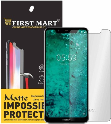 FIRST MART Impossible Screen Guard for Nokia 5.1 Plus, Nokia X5(Pack of 1)