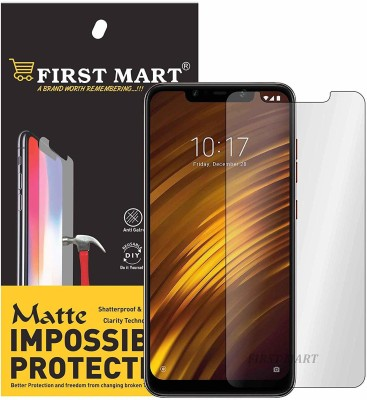FIRST MART Impossible Screen Guard for POCO F1, POCO F1(Pack of 1)