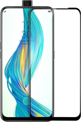 Knotyy Edge To Edge Tempered Glass for Realme X(Pack of 1)