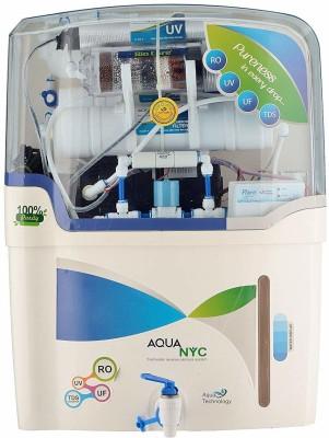 Aqua aqu011 10 L RO + UF Water Purifier(White)