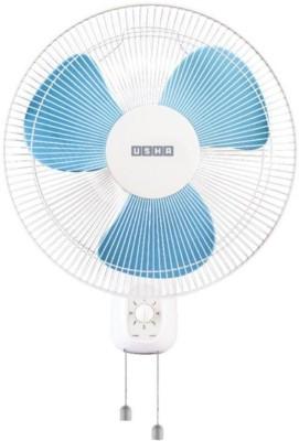 USHA MEGA Helix High Speed Wall Fan 400 mm 3 Blade Wall Fan(BLUE, Pack of 1)