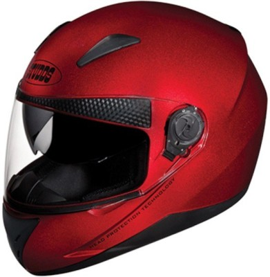 Studds Shifter Motorbike Helmet(Cherry Red)