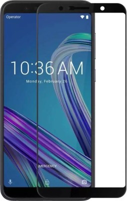 Landmark Edge To Edge Tempered Glass for Asus Zenfone Max Pro M1 2.5D Curved edge(Pack of 1)