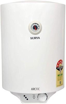 SURYA 25 L Storage Water Geyser (ARCTIC VERTICAL GLASSLINED 19, White)