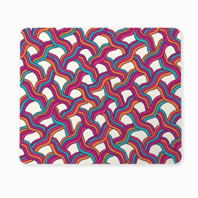 100yellow Medium 3D Brick Texture Mousepad for Computer (Pack of 1) Mousepad(Multicolor)
