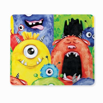 100yellow Medium 3D Pizza Mousepad for Computer (Pack of 1) Mousepad(Multicolor)