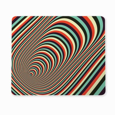 100yellow Medium 3D Road Patterns Mousepad for Computer (Pack of 1) Mousepad(Multicolor)