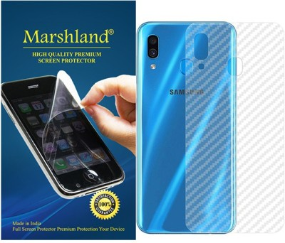 Marshland Back Screen Guard for samsung galaxy a30(Pack of 1)