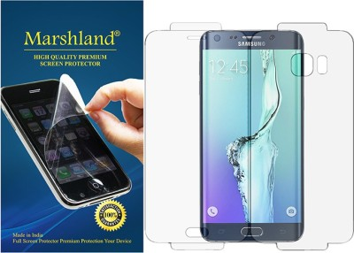 Marshland Front and Back Screen Guard for Samsung Galaxy S6 Edge Plus(Pack of 1)