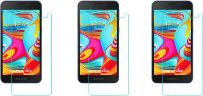 ACM Tempered Glass Guard for Samsung Galaxy A2 Core(Pack of 3)