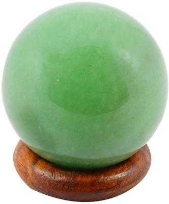 Crystu Green Jade Ball / Sphere Crystal Ball Gemstone Globe Decorative Showpiece  -  2 cm(Crystal, Green)