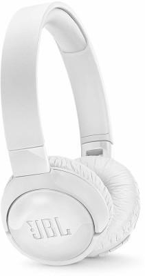 JBL Tune600BTNC Bluetooth Headset (White, Wireless over the head)