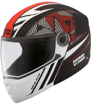 STUDDS NINJA ELITE SUPER D2 FULL FACE N2 - L Motorbike Helmet(Black)