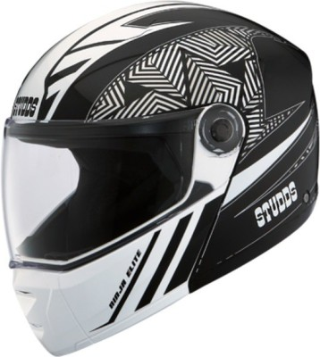 STUDDS NINJA ELITE SUPER D2 FULL FACE N4 - L Motorbike Helmet(Black)