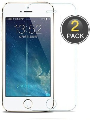Power Tempered Glass Guard for Apple iPhone 5s(Pack of 2)