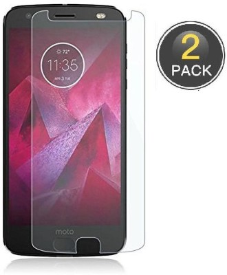 Power Tempered Glass Guard for Motorola Moto X4(Pack of 2)