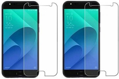 SRT Tempered Glass Guard for Asus Zenfone 4 Selfie Pro(Pack of 2)