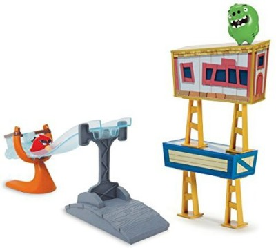 Angry Birds Sling and Smash Track Set(Multicolor)
