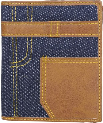 RFID Boys Multicolor Genuine Leather Wallet 8 Card Slots