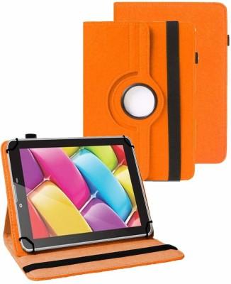 TGK Flip Cover for BSNL Penta T-Pad WS704DX Tablet(Orange, Cases with Holder)