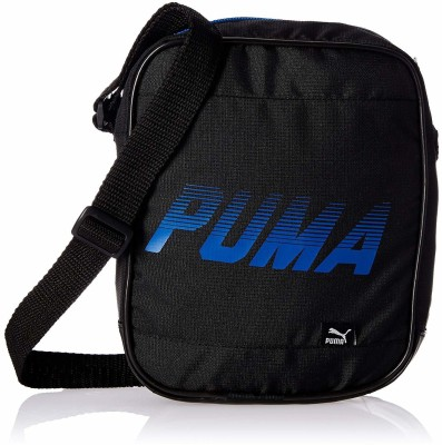 Puma Men Black Messenger Bag
