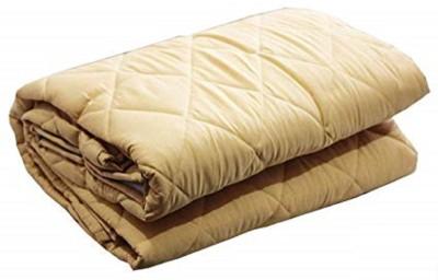 RRC Elastic Strap King Size Waterproof Mattress Protector(Beige)