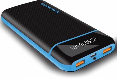 Coolnut 20000 mAh Power Bank Black, Blue, Lithium ion Coolnut Power Banks