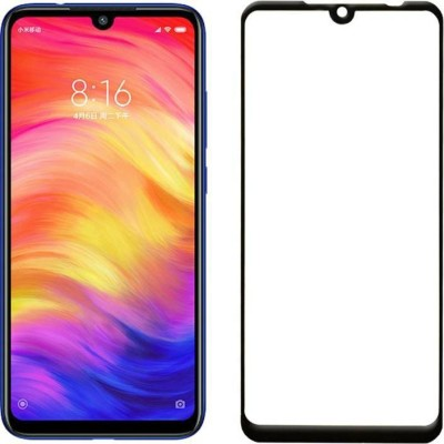 ajd Edge To Edge Tempered Glass for Redmi Mi Note 7, Redmi Mi Note 7 Pro(Pack of 1)