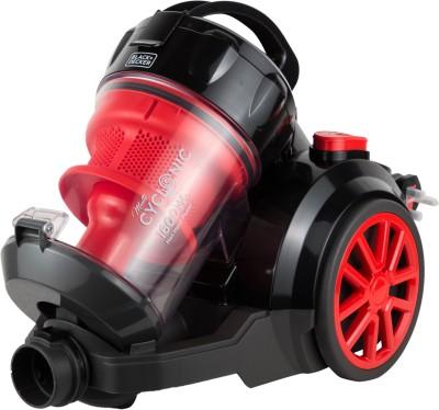 Black & Decker VM1680-b5 Dry Vacuum Cleaner(Red, Black)