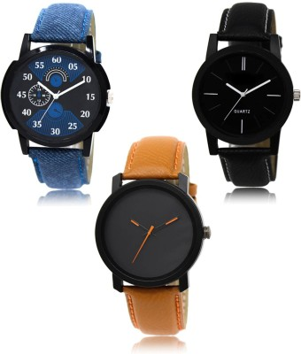 LegendDeal LR 02 05 20 Exclusive Collection Pack Of 3 Combo Analog Watch   For Men LegendDeal Wrist Watches