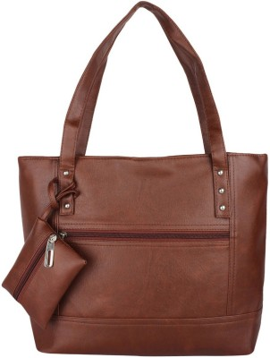 Avni's Women Brown Shoulder Bag
