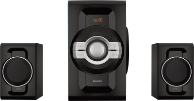 PHILIPS MMS2260B/94 60 W Bluetooth Home Theatre(Black, 2.1 Channel)