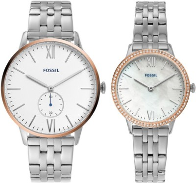 Fossil FS5562SET The Andy And Addison Set Analog Watch - For Men
