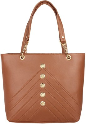 Sparklings Women Brown Shoulder Bag