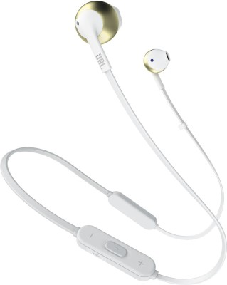 JBL ****BT Bluetooth Headset with Mic(Gold, In the Ear)
