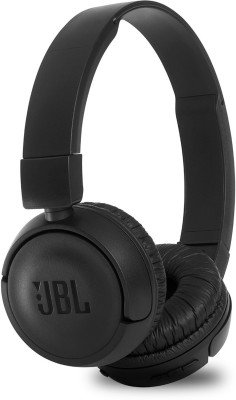 JBL T450BT Extra Bass Bluetooth Headset(Black, Wireless over the head)